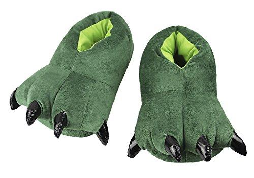 Schaum Kostüm Machen - YSXY Süße Plüschpantoffeln Damen Herren Hausschuhe Pantoffeln Drinnen Warme Pfoten Pantoffeln Kostüm für Herbst und Winter EU 40-43