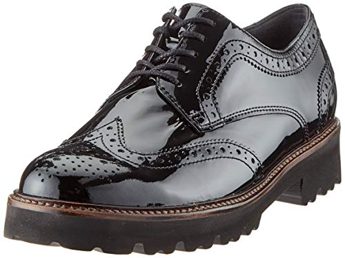 Gabor Shoes Damen Basic Slipper, Schwarz (Schwarz (Cognac) 97), 41 EU