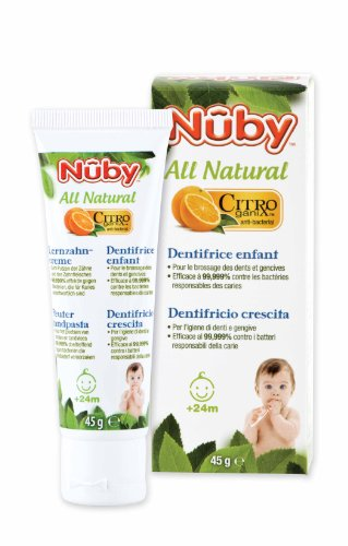 Nûby CG 18001, Citroganix Lernzahncreme (1x45g)