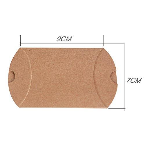 Geschenkboxen aus Kraftpapier |100 Stück