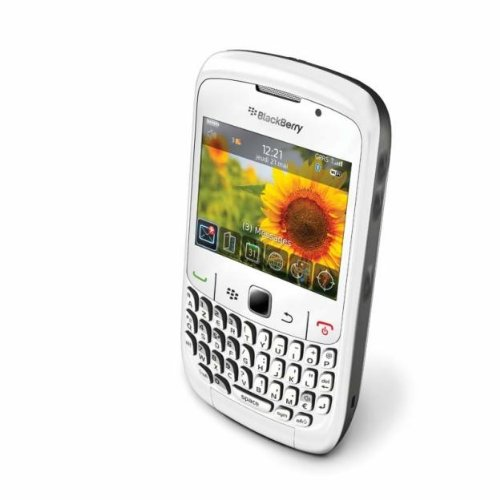 BlackBerry Curve 8520, Display 2.64 Pollici, Wi-Fi, Bianco (Importato Unione