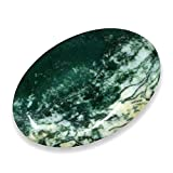 Piedra de dedo de ágata musgosa