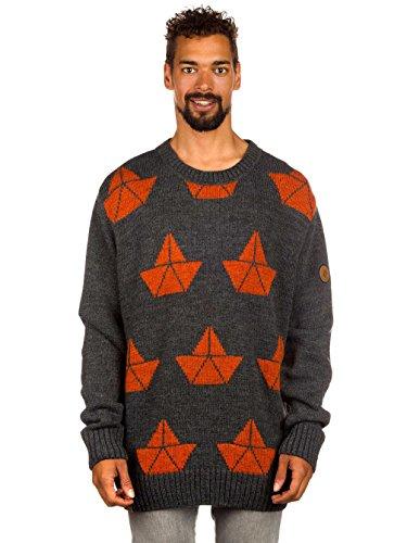 Cardigan en tricot pour homme shisha bà corps nk cardigan Gris - Anthrazit