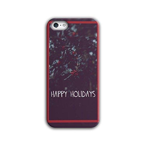 Glücklich Urlaub Weihnachten Lustig Zeit iPhone 5 / 5S Hülle | (Ideen Weihnachten Urlaub Kostüm)
