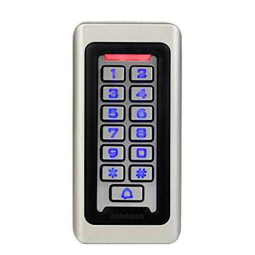 Retekess T-AC03 Control de Acceso Impermeable Teclado Táctil Independ