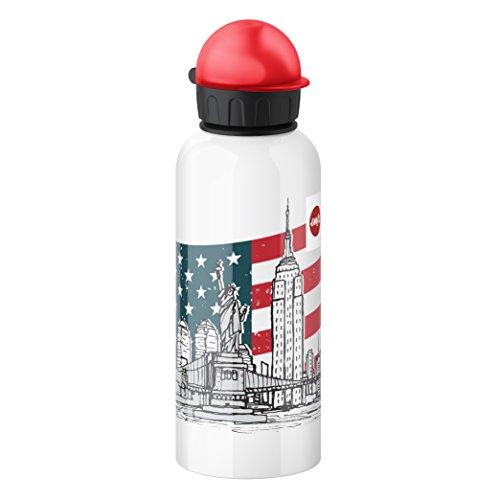 Price comparison product image Emsa 514409 Kids drink flask,  fruit acid resistant,  BPA free,  600 ml,  New York