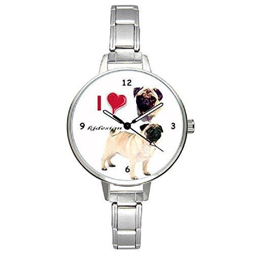 Carlino Italian Charms Reloj para Mujer