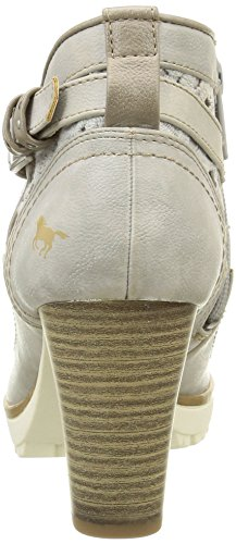 Mustang Damen 1214501 Stiefel & Stiefeletten Elfenbein - Blanc Cassé (243 Ivory)