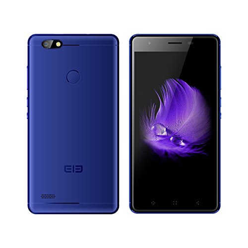 """ELEPHONE Smartphone 4G 5.0"""" in Metallo Quad-Core 16G Rom Android 6.0 Leggero Sottile Comodo da Operare, Buon Regalo per Papa, Mama (C1 Mini, Blu)"""