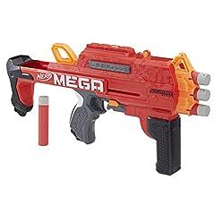Idea Regalo - Nerf Mega - Bulldog (blaster con dardi Accustrike)