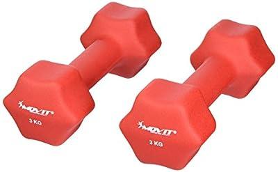 MOVIT® 2er Set Neopren Kurzhanteln, 8 Gewichts- und Farbvarianten von MOVIT