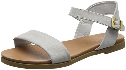 New Look Wide Foot Gday, Sandales à talon femme Grey (Mid Grey)