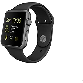 Apple Watch Sport - Smartwatch (42 mm, Bluetooth 4.0, Ion-X, WiFi ...