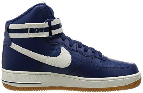 ... Bleu Nike Air Force 1 High '07, Chaussures de Sport-Basketball Homme,  Bleu