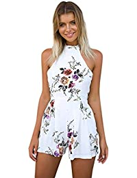 b91946a13e72f Amazon.co.uk  White - Jumpsuits   Playsuits   Women  Clothing
