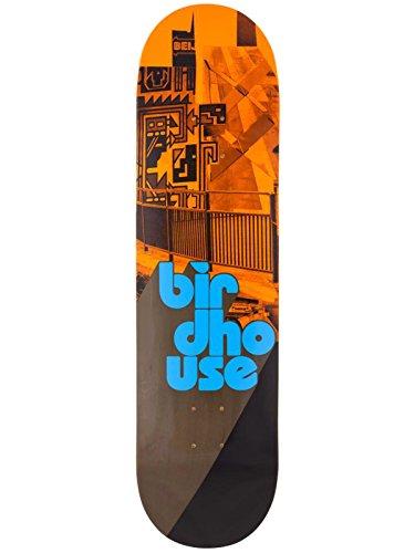 946771501e6 Birdhouse Skateboard-Deck Stacked - 8.25 Inch Orange-Schwarz (One Size