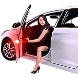 Fliyeong Universal Car Auto Door Advertencia Abierta LED Luces Rojas Estroboscópico magnético anticolisión ...