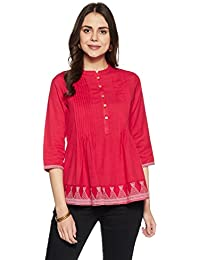 Myx Women's A-Line Cotton Kurta