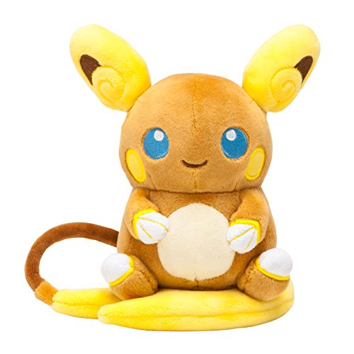 Pokemon-Center-Original-Pokemon-Peluche-Alolan-Raichu-Arora-Reichu-Japan-Import