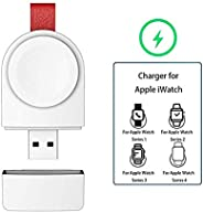 I Watch Portable Magneric Charger for Apple, Magnetic Portable Wireless iWatch Charger Compatible for Apple Wa