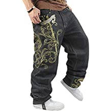 wholesale dealer 99a73 59c32 pantaloni larghi hip hop - Amazon.it