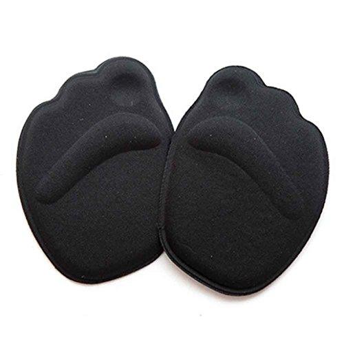 Mamum Einlegesohle, Innensohle, anti-rutsch, anpassen, Absatzschuhe, Pads zum Schutz des Fußes, Polster, Kissen, Vorderfuß, atmungsaktiv, Schuhe, Pad Einheitsgröße B