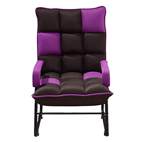 2 Sitz-liegesessel Sofa (Sitzsäcke Verstellbare Faule Sofa Couch Stuhl Recliner gepolsterte Rückenlehne, Schlafzimmer Balkon kleine Wohnung Studie Lounge Sofa (Farbe : Style 2))