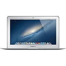 Apple MacBook Air Md711ll/B?Ordinateur Portable DE 29,5cm (4Go de RAM, Disque Dur 128Go, OS X Mavericks) (Reconditionné)