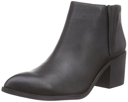 Sofie Schnoor Pointy toe leather boot, Damen Biker Boots, Schwarz (black), 40 EU (Boot Pointy Toe)