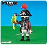 PLAYMOBIL® 6289 Piratenkapitän mit Papagei (Folienverpackung)