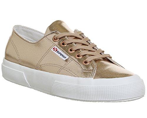 Superga 2750 Cotu Classic, Sneakers Unisex - Adulto Cracked Rose Gold Exclusive