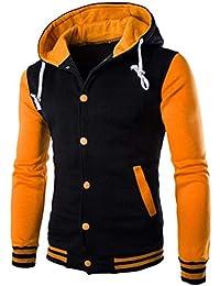 aaf5a546e2 Amazon.co.uk  Yellow - Hoodies   Hoodies   Sweatshirts  Clothing