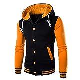 Luckycat Herren Print Coat Jacket Outwear Pullover Winter Slim Hoodie Warmes Kapuzenpulli Winterjacke Steppjacke Daunenjacke Parka Mäntel Jacken