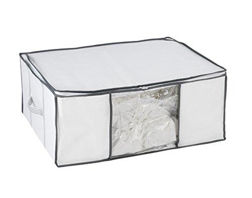 Wenko 7450022100 Vakuum Soft Box L, 65 x 50 x 27 cm, weiß, Polypropylen