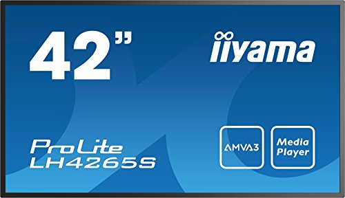 Iiyama ProLite LH4265S 42-Inch IPS Commercial Display Monitor - Black