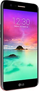LG Mobile K10 (2017) Smartphone (13,46 cm (5,2 Zoll) IPS Display,16GB  Speicher, Android 7.0) schwarz