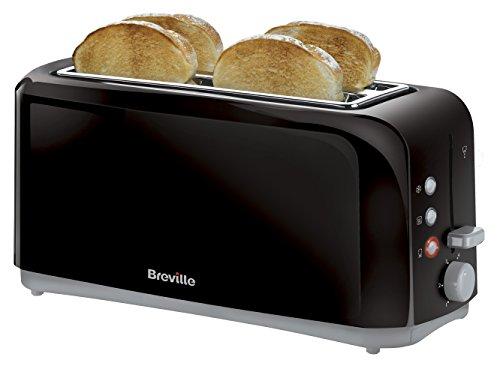 Breville VTT233 Black 4 Slice Toaster