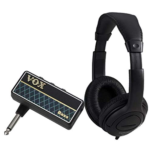 Vox Amplug 2 Bass Bundle - Mini amplificatore a Jack per Chitarra con Cuffia