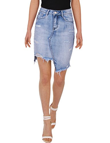 Fraternel gonna di jeans donna stretch used blu taglia: it 40 - s