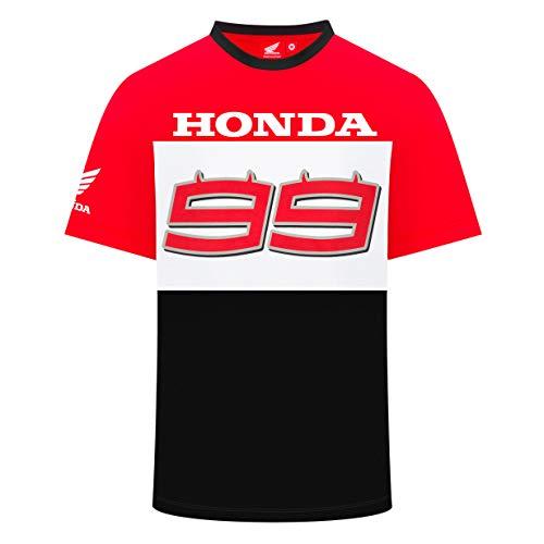 Whybee 2019 Jorge Lorenzo - Maglietta da Uomo con Logo Ufficiale MotoGP, Sandali Adventure Seeker, Punta Chiusa - T - Bambini, Mens (XXL) 120cm/47 inch Chest