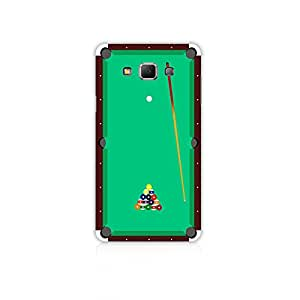 Mikzy Pool Table Printed Designer Back Cover Case for Samsung A7 (Multicolour)