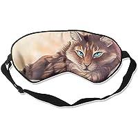Sleep Eye Mask Cats Animals Lightweight Soft Blindfold Adjustable Head Strap Eyeshade Travel Eyepatch E22 preisvergleich bei billige-tabletten.eu