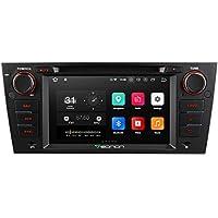 eonon Android 8 Indash Car Digital Audio Video Stereo Autoradio 7 Zoll LCD Toucscreen CD DVD GPS Sat Nav Bluetooth FM AM RDS USB SD Headunit passen fit BMW E90 E91 E92 E93 GA9165A