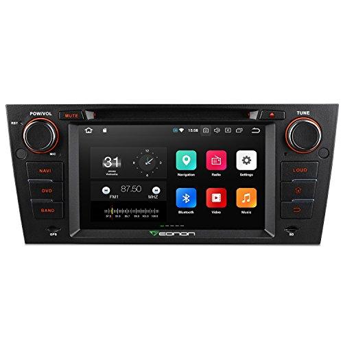 "Eonon GA9165A 7"" Android 8.0 Oreo 4GB RAM Octa Core Car Stereo CD DVD Player 32GB Rom DAB Radio Sat Nava GPS Navigation Head Unit Autoradio para BMW E90 E91 E92 E93 7"" Pantalla Táctil con Bluetooth 4.0 Soporte DAB+ RDS WIFI 4G OBD2 Cámara Soporte Dash Cam"