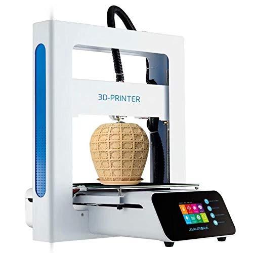 JGAURORA A3S Impresora 3D Mini Deskpot DIY 3D Impresora Kit Soporte PLA/Madera / TPU/ABS Filamento 3D para la Oficina de la Escuela Hogar