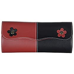 Designer Wallet-Red Black