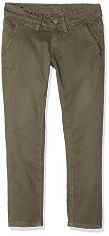 Pepe Jeans Blueburn, Pantalon Garçon, Vert (Army), 12 Ans (Taille Fabricant:12)
