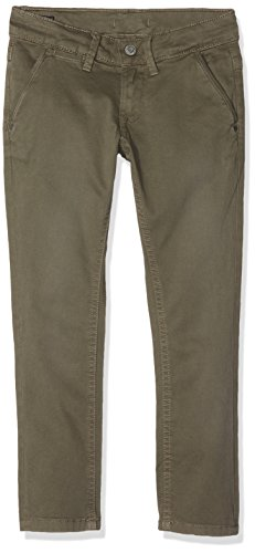 Pepe Jeans Jungen Hose Blueburn, Grün (Army), 7 Jahre (Jeans Kinder Grün)