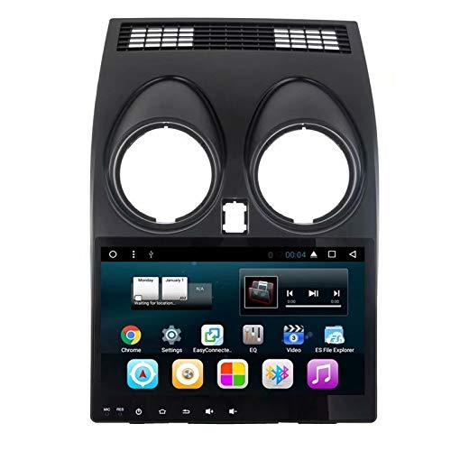ROADYAKO 9Inch Quad Core Android 7.1 Mesa de Coche para Nissan Qashqai 2007 2008 2009 2010 2011 2012 2013 Radio estéreo de navegación GPS WiFi 3G RDS Enlace de Espejo FM Am BT 2 GB RAM 32 GB ROM