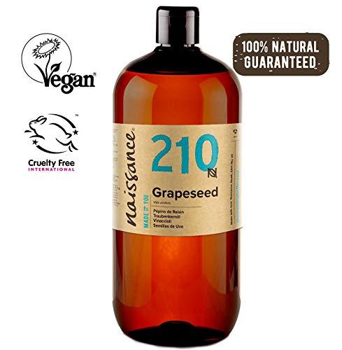 Naissance Traubenkernöl (Nr. 210) 1 Liter (1000ml) 100% natürlich -